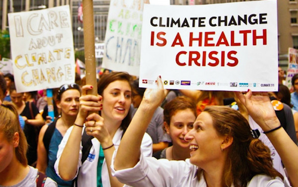 Climate change makes us sick