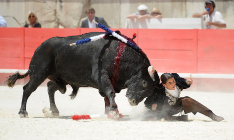Sign to demand France to ban bullfighting