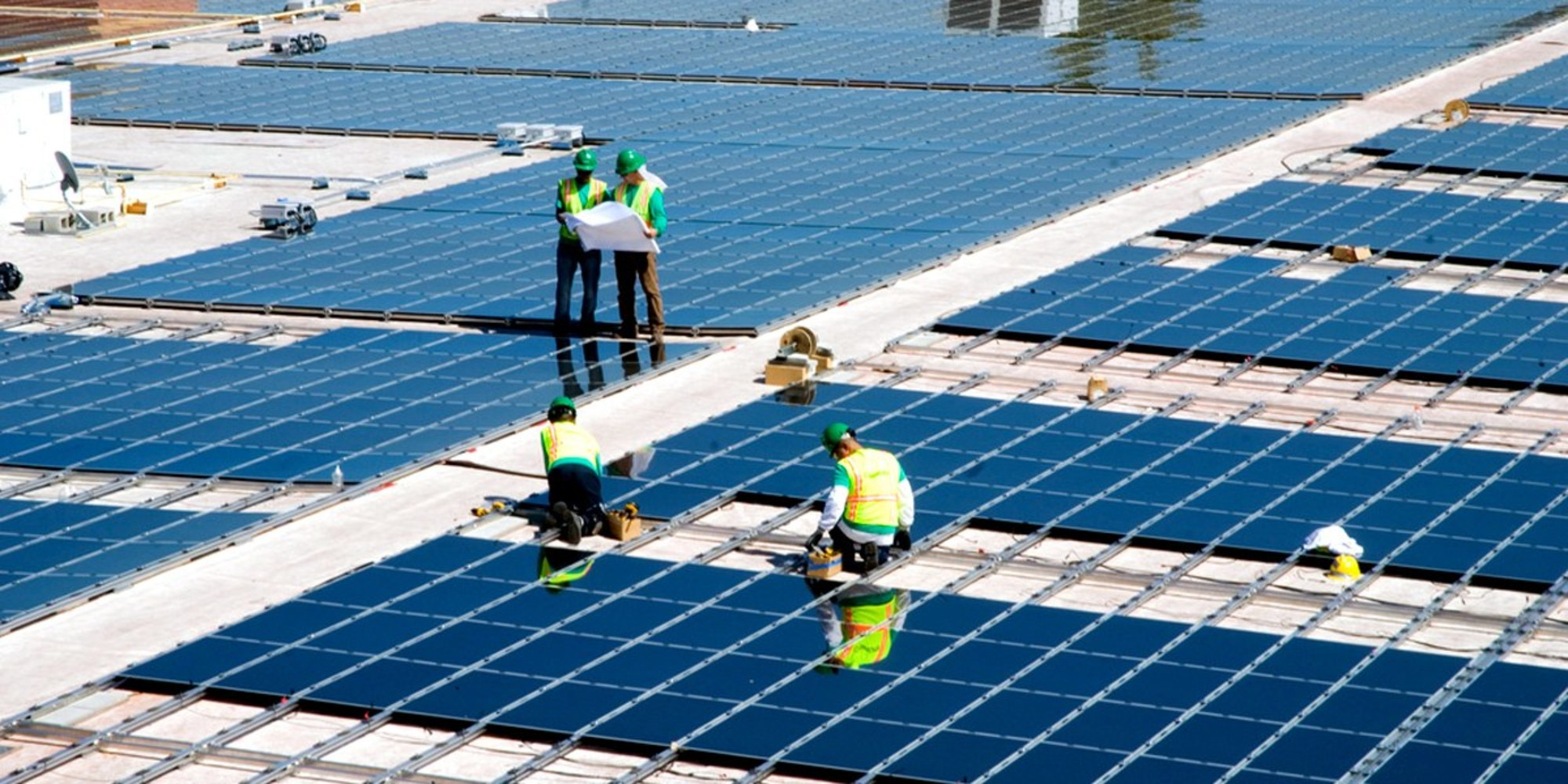 Solar energy creates more employment versus oil, coal and gas in the U.S.